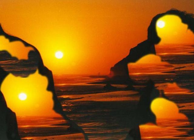 Hoàng Mai Đạt và Minh Thủy - Lovers at Sunset, fotoart by Thai Ta