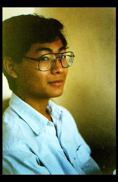 Hoàng Mai Đạt, 1988 - photo by Thai Ta
