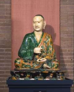 Luohan statue / Penn Museum